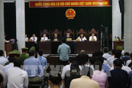 Ninh Văn Quỳnh thừa nhận có nhận tiền của Nguyễn Xuân Sơn
