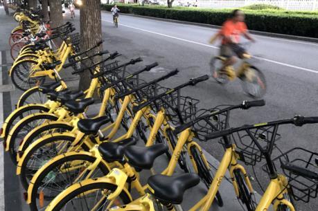 Bắc Kinh cấm đưa thêm xe đạp chia sẻ vào thành phố