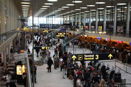 Phát hiện hành lý khả nghi tại sân bay Copenhagen