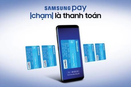 Sacombank triển khai phương thức thanh toán mới qua Samsung Pay