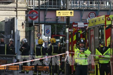 Vụ nổ tàu điện ngầm ở Anh: Xác định được một nghi can