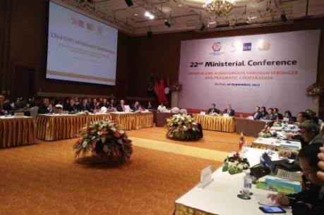 Hội nghị Bộ trưởng GMS 22: Hoàn thiện khung kế hoạch hành động Hà Nội