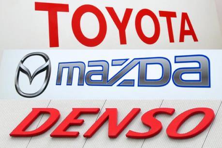 Toyota, Mazda và Denso bắt tay phát triển xe ô tô điện
