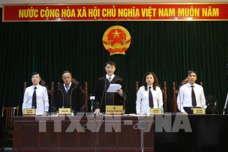 Vụ xét xử Hà Văn Thắm và đồng phạm: Tuyên tử hình Nguyễn Xuân Sơn