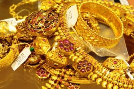 Giá vàng châu Á rơi xuống mức thấp nhất của bảy tuần