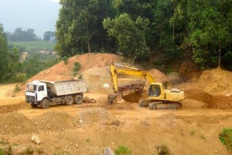 Bình Thuận ra công văn khẩn về khai thác khoáng sản trái phép