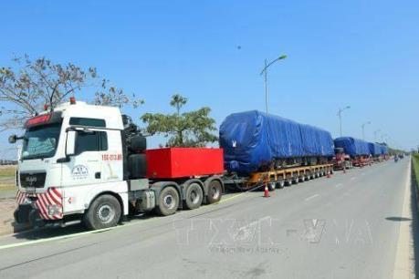 Đoàn tàu thứ 2 đường sắt đô thị Cát Linh - Hà Đông về tới Hà Nội