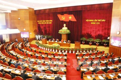 Hội nghị Trung ương 6 Khóa XII: Quyết định nhiều vấn đề quan trọng