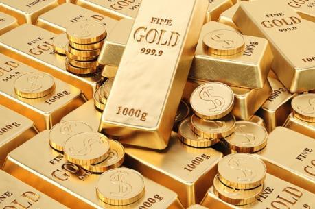 Giá vàng đi lên trên thị trường châu Á