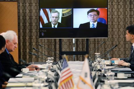 Khởi động tiến trình sửa đổi FTA Mỹ-Hàn