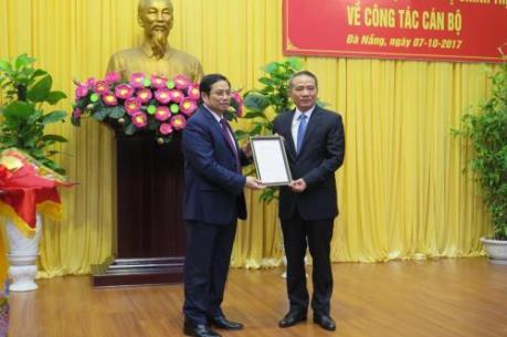 Công bố quyết định phân công Bí thư Thành ủy Đà Nẵng nhiệm kỳ 2015- 2020