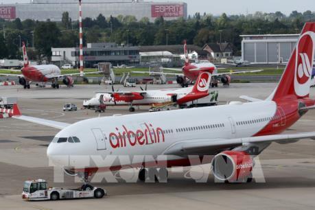 Khoảng 1.400 nhân viên hãng hàng không Air Berlin sẽ phải nghỉ việc