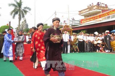 Lễ hội đền Đồng Bằng trở thành Di sản Văn hóa phi vật thể quốc gia