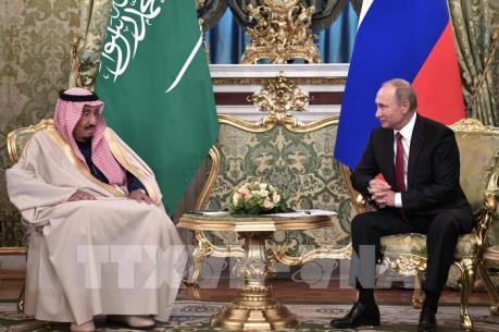 Tầm cao mới trong quan hệ hợp tác Nga - Saudi Arabia
