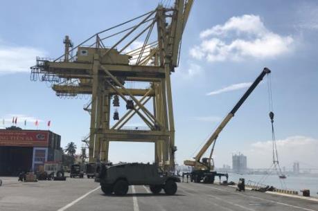 Bến cảng Tiên Sa (Đà Nẵng) dự kiến đưa vào khai thác trong tháng 11