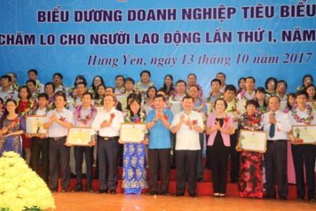Hưng Yên vinh danh 88 doanh nghiệp tiêu biểu