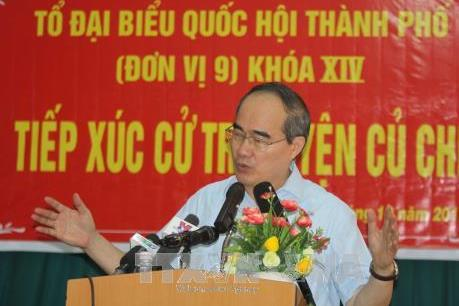 Thành phố Hồ Chí Minh: Không để bức xúc của người dân kéo dài