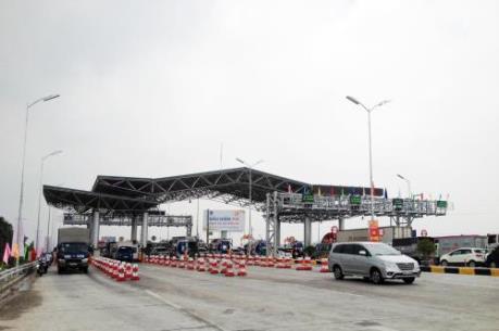 Trạm thu phí BOT Hà Nội - Bắc Giang chính thức thu phí không dừng 