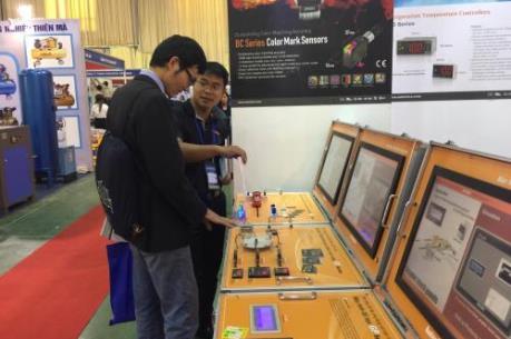 Gần 250 doanh nghiệp tham gia Hội chợ quốc tế Hàng công nghiệp Việt Nam 2017