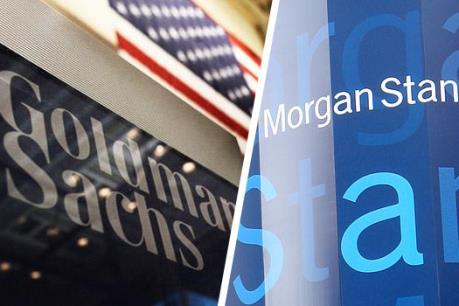 Goldman Sachs Group Inc và Morgan Stanley có doanh thu kỷ lục