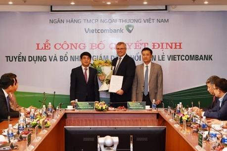 Vietcombank lần đầu tiên có giám đốc ngoại