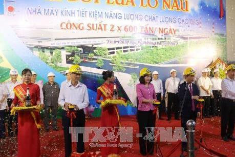 Ninh Bình: Nhà máy kính tiết kiệm năng lượng chính thức hoạt động