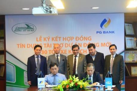 PG Bank tài trợ tín dụng 270 tỷ đồng cho dự án đóng mới 30 toa xe khách