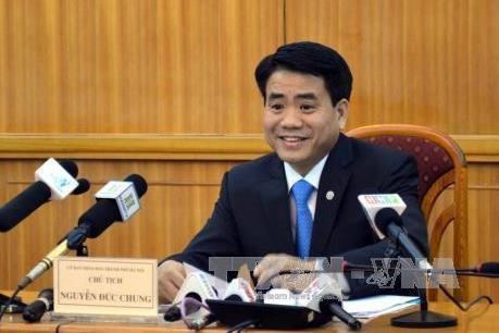 Chủ tịch TP. Hà Nội làm việc với UBND huyện Thạch Thất