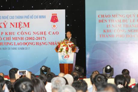 """Hội tụ """"tinh hoa trí tuệ, công nghệ cao"""" thế giới tại Khu Công nghệ cao Tp. Hồ Chí Minh"""