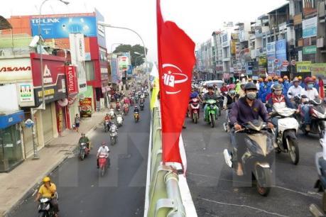 Đã thông xe nhánh cầu vượt thép Phạm Ngũ Lão, Tp. Hồ Chí Minh