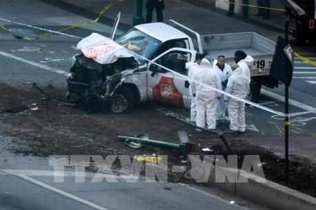 Hiện trường vụ khủng bố mới nhất tại New York