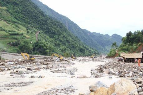 Đề phòng lũ quét, sạt lở đất tại các tỉnh Quảng Nam đến Bình Thuận và khu vực Nam Bộ