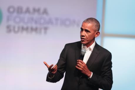 Cựu Tổng thống Mỹ B.Obama được ngưỡng mộ nhất ở Mỹ
