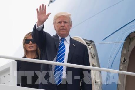 Tổng thống Mỹ bắt đầu công du châu Á