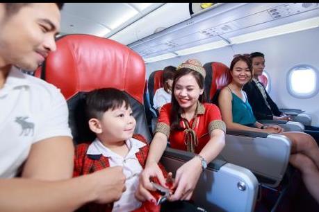 Chào mừng năm mới, Vietjet Air khuyến mại 2 triệu vé siêu tiết kiệm