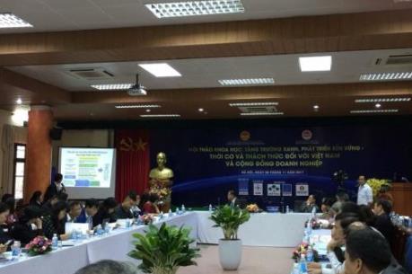 Tăng trưởng xanh tác động như nào tới doanh nghiệp Việt Nam?