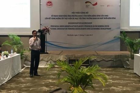 Công bố kế hoạch hành động tăng trưởng xanh của 5 tỉnh Đồng bằng sông Cửu Long