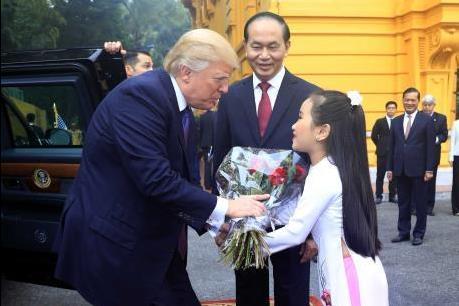 Chùm ảnh Tổng thống Hợp chúng quốc Hoa Kỳ Donald Trump thăm cấp Nhà nước tới Việt Nam