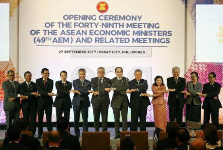 Các bộ trưởng RCEP thúc đẩy ký kết thỏa thuận trong năm 2018