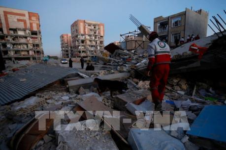 Động đất ở biên giới Iran-Iraq: Thương vong tăng lên gần 7.000 người