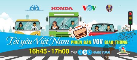 """Chương trình """"Tôi yêu Việt Nam"""" sẽ được phát sóng trên kênh VOV giao thông từ 14/11"""