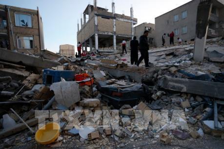 Lại xảy ra động đất tại khu vực biên giới Iran-Iraq