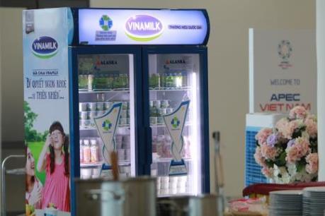 Hơn nửa triệu sản phẩm Vinamilk phục vụ APEC 2017