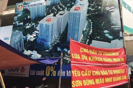 Hà Nội cần xử lý nghiêm những sai phạm tại dự án chung cư New Horizon City