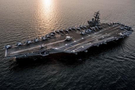 Các tàu sân bay Mỹ rời Bán đảo Triều Tiên