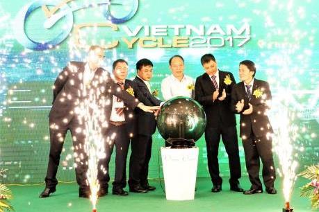Khai mạc triển lãm quốc tế xe hai bánh Việt Nam 2017