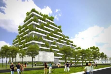"""Đầu tư cho công trình xanh – """"một vốn bốn lời"""""""