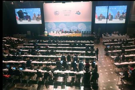 COP 23: Kiên định mục tiêu chống biến đổi khí hậu