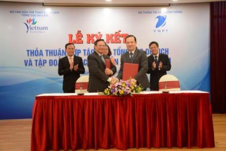 VNPT và Tổng cục Du lịch ký thỏa thuận hợp tác