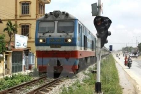 Chính thức hoạt động tuyến vận tải đường sắt Hà Nội - Giang Tây